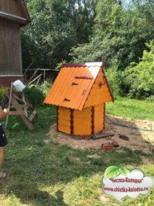 домик для колодцев под заказ